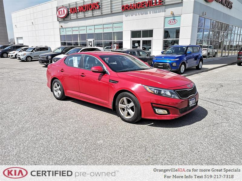 2015 Kia Optima LX Automatic - Trade-In #83029A