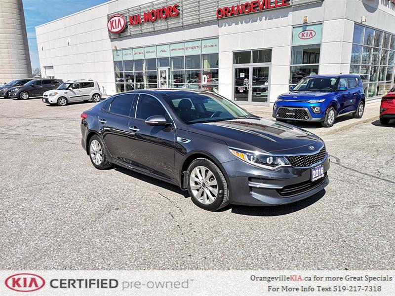 2016 Kia Optima EX Tech NAV/Leather - Trade-in #86063A