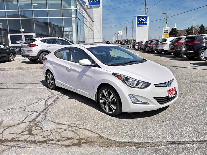 2016 Hyundai Elantra GLS Automatic - Trade-In #92034A