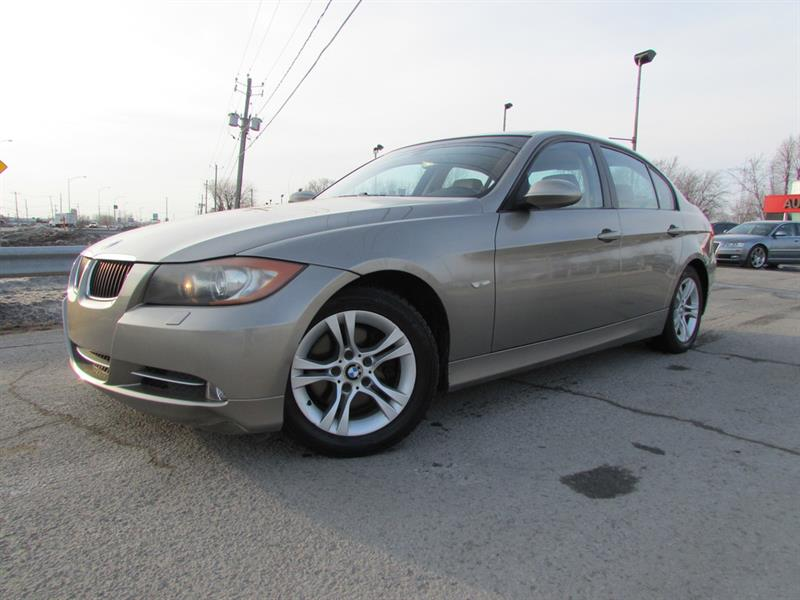 BMW 328XI 2008 XDRIVE BLUETOOTH TOIT OUVRANT MAGS!!! #4304