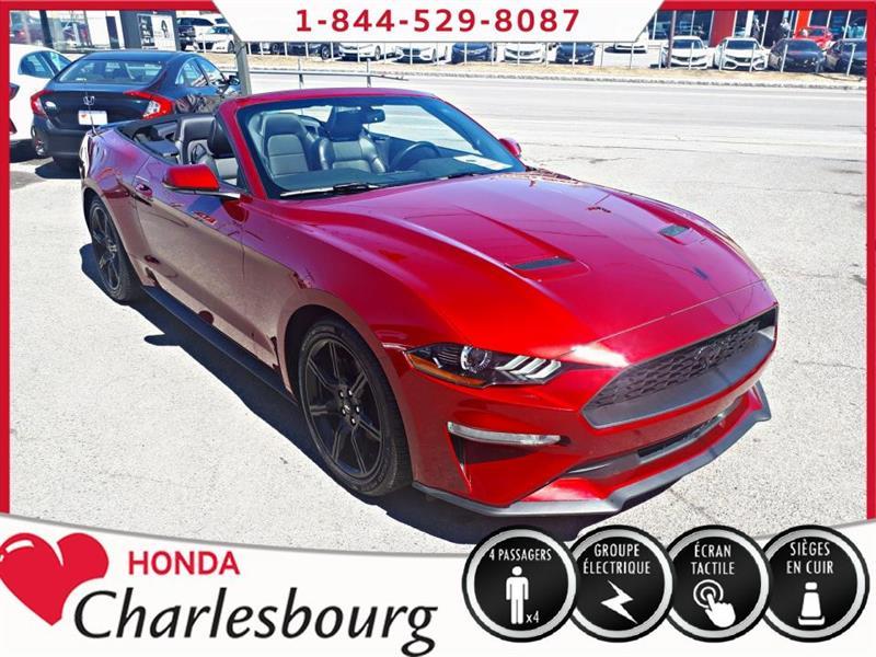 Ford Mustang 2018 CONVERTIBLE PREMIUM *CUIR+GRANDE ÉCRAN** #UE19032