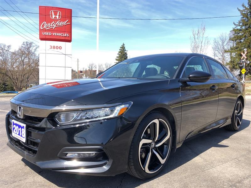 2018 Honda Accord Sedan Sport #23578A