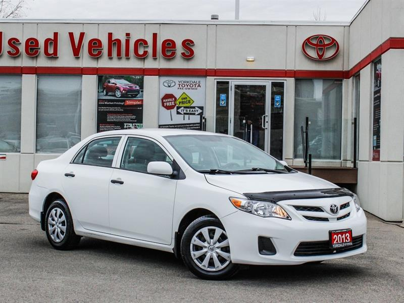 2013 Toyota Corolla CE   Auto   Very Low KMs   CD   AUX #P7938