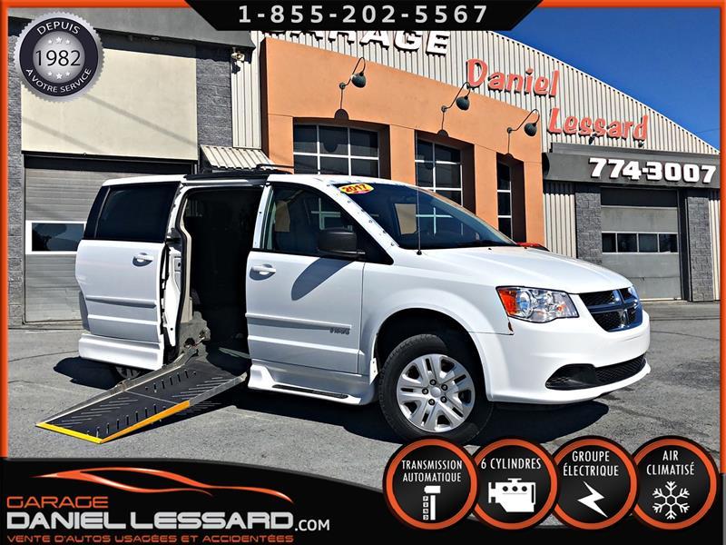 Dodge Grand Caravan 2017 SXT SAVARIA,  CONVERTIE ** POUR TRANSPORT ADAPTER  #79185