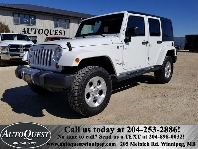 2013 Jeep Wrangler Unlimited Sahara 3.6L 4X4 #1229