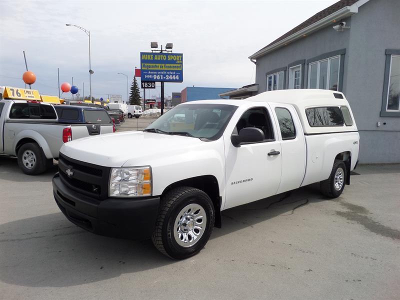 2011 Chevrolet Silverado 1500 4WD Ext Cab 157.5 WT
