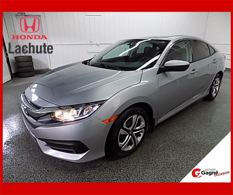 Honda Civic Sedan 2016 LX/ AUTO/ GARANTIE 2023 #HU-2640