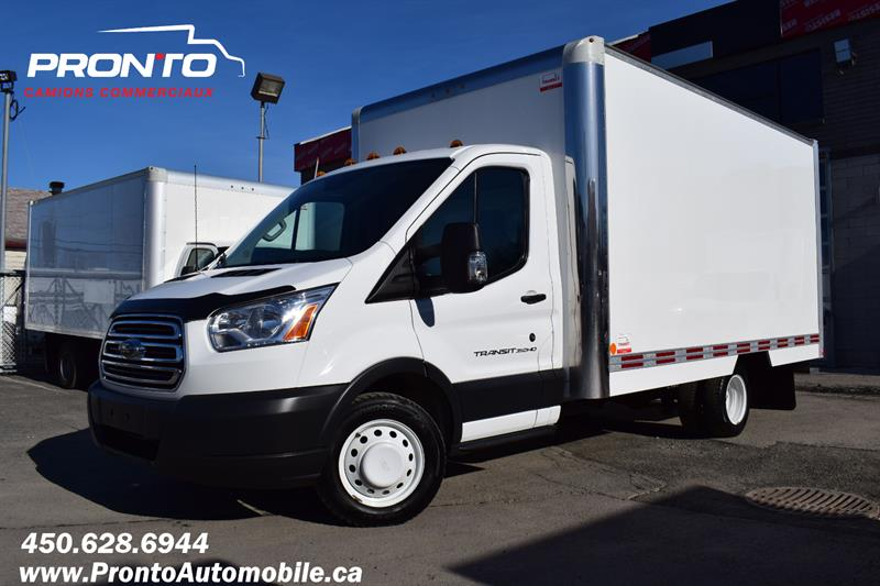 2017 Ford Transit Cutaway T-350 ** 14 PIEDS ** 3.7L ** Pas d'inspections **  #1826