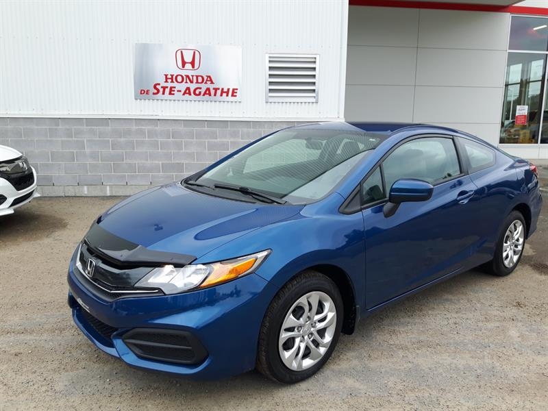 Honda Civic 2015 2dr Man LX *Caméra recul, Bluetooth, A/C, Cruise.. #p9417
