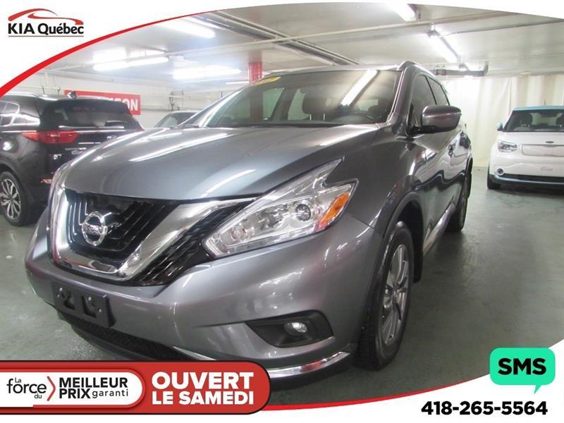 Nissan Murano 2017 SV* AWD* GPS* TOIT PANO* CAMÉRA* #QU10339
