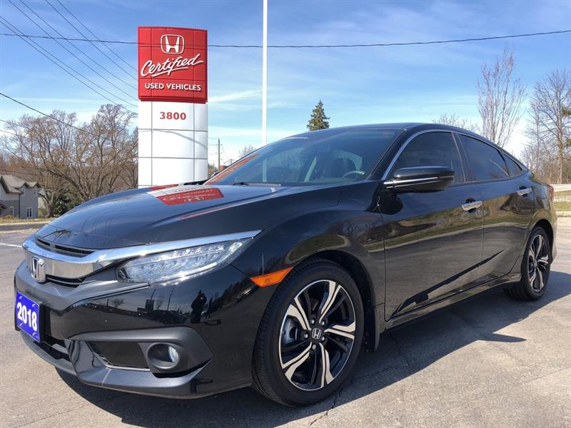 2018 Honda Civic Sedan Touring #22138