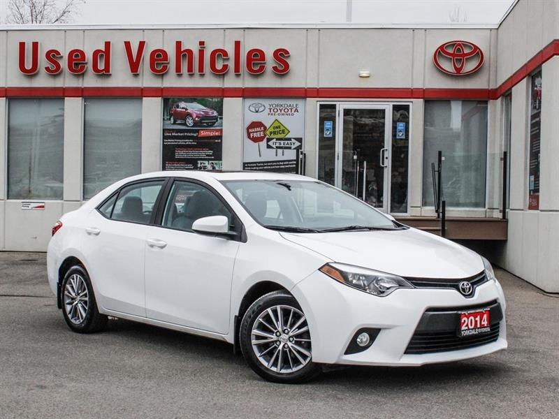 2014 Toyota Corolla LE   Sunroof   Alloys   R.Cam   H.Seats #P7958