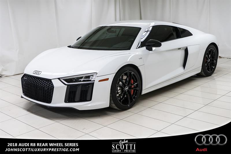 2018 Audi R8 V10 Coupe Rear Wheel Series #P16170