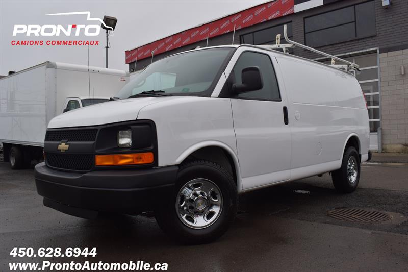 Chevrolet Express Cargo Van 2014 2500 ** 4.8L ** Gr. Électrique ** Full rack **  #1827