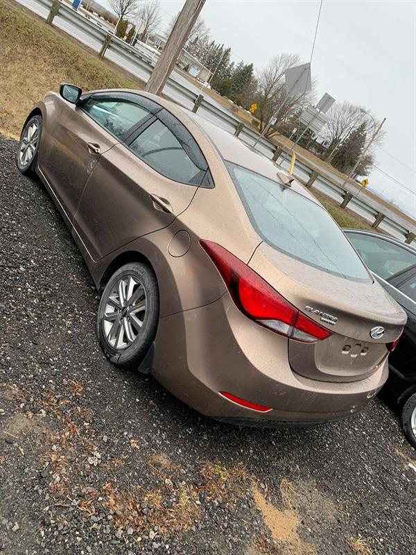 Hyundai Elantra 2016 4dr Sdn