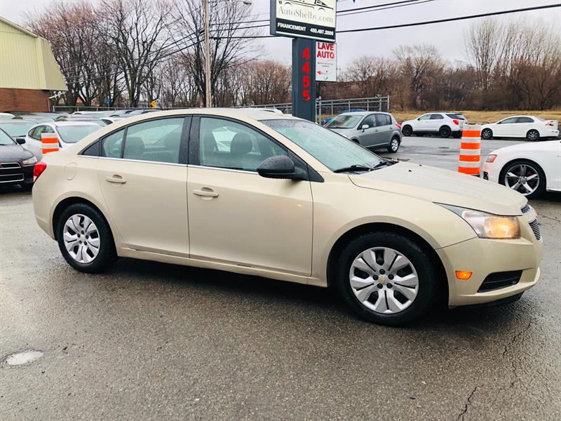 Chevrolet Cruze 2012 27$* par semaine/Financement #95511-2