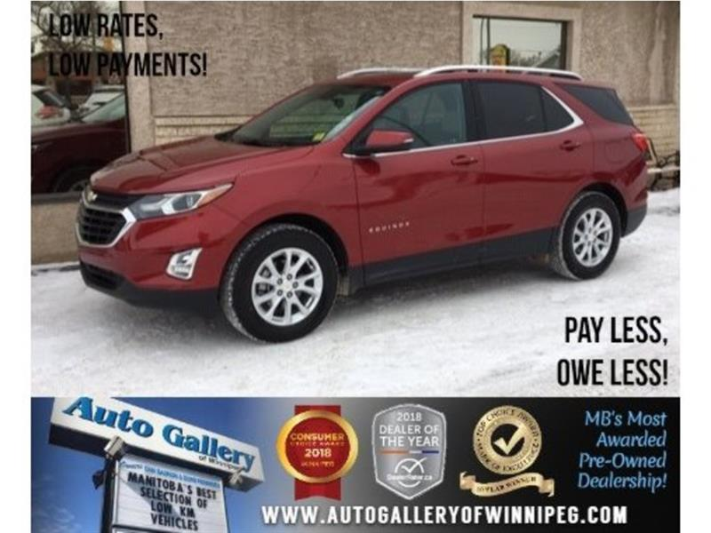 2018 Chevrolet Equinox LT *AWD/Roof/Backup Cam/Low KMs! #23762