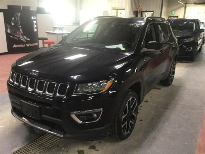 2018 Jeep Compass Limited *AWD/Lthr/Roof/Navi/Bluetooth #23876