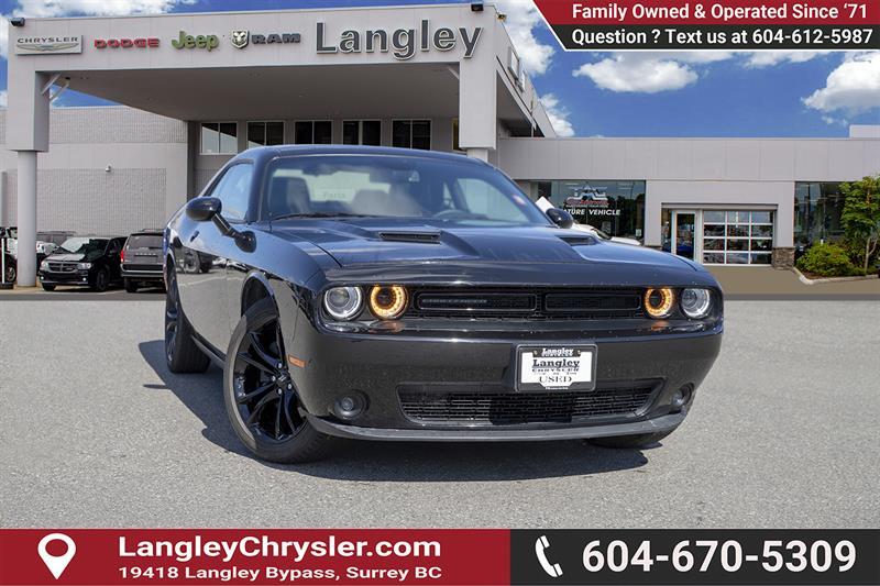 2018 Dodge Challenger SXT #EE902170