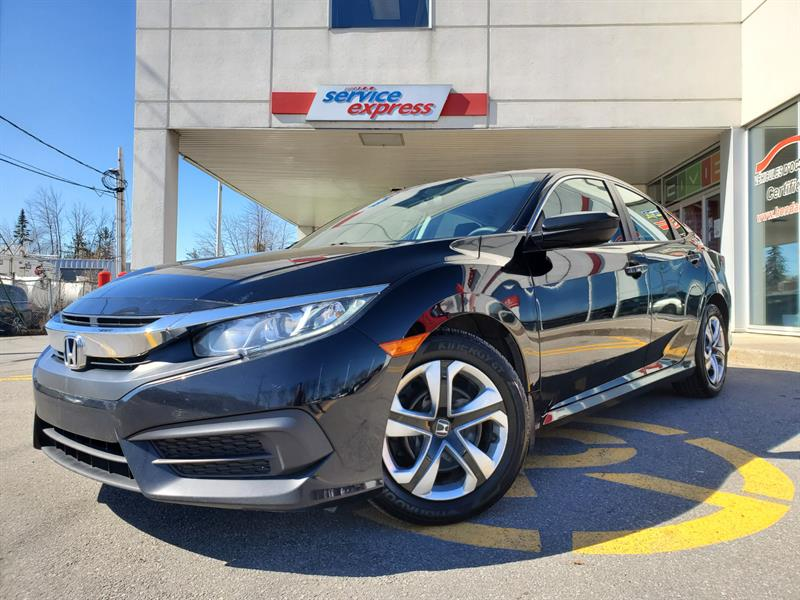 Honda Civic Sedan 2017 4dr CVT LX #44971