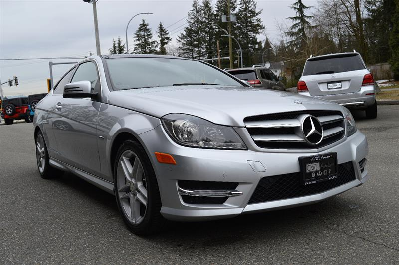 2012 Mercedes-Benz C-Class C250 Coupe- New Tires & Brakes / No Accidents #CWL8929M