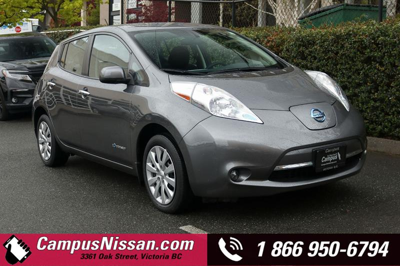 2016 Nissan Leaf | S | FWD w/ Quick-Charge #JN3186