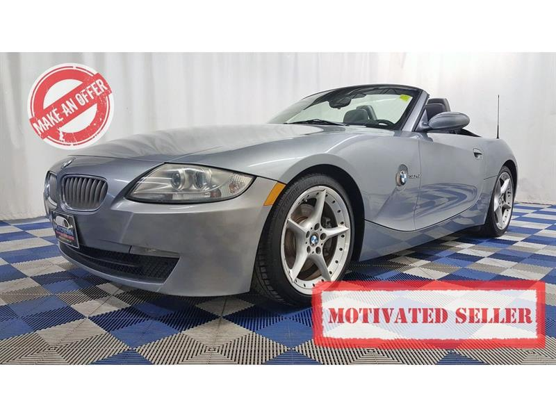 2006 BMW Z4 3.0si/LEATHER/MEMORY HTD SEATS #LUX6BZ00213