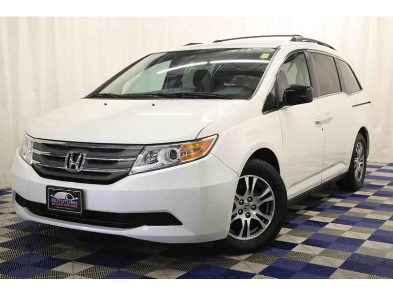2013 Honda Odyssey EX 8 SEATER-BACK UP CAM-POWER DOORS #13HO04122