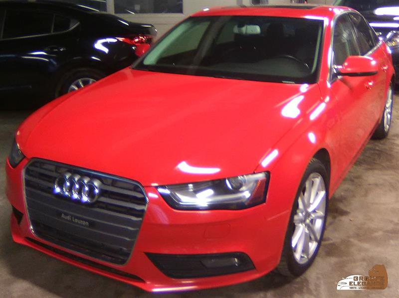 2014 Audi A4 TECH PACKAGE #201904-01