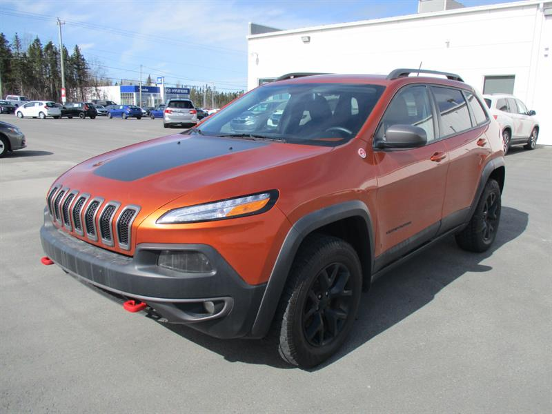 2015 Jeep Cherokee 4WD 4dr Trailhawk #H19063A