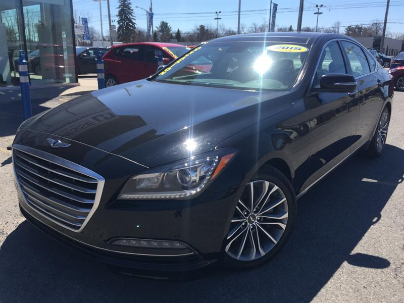 2015 Hyundai Genesis Sedan 3.8 LUXURY, AWD, LEXICON, NAVI #19370A