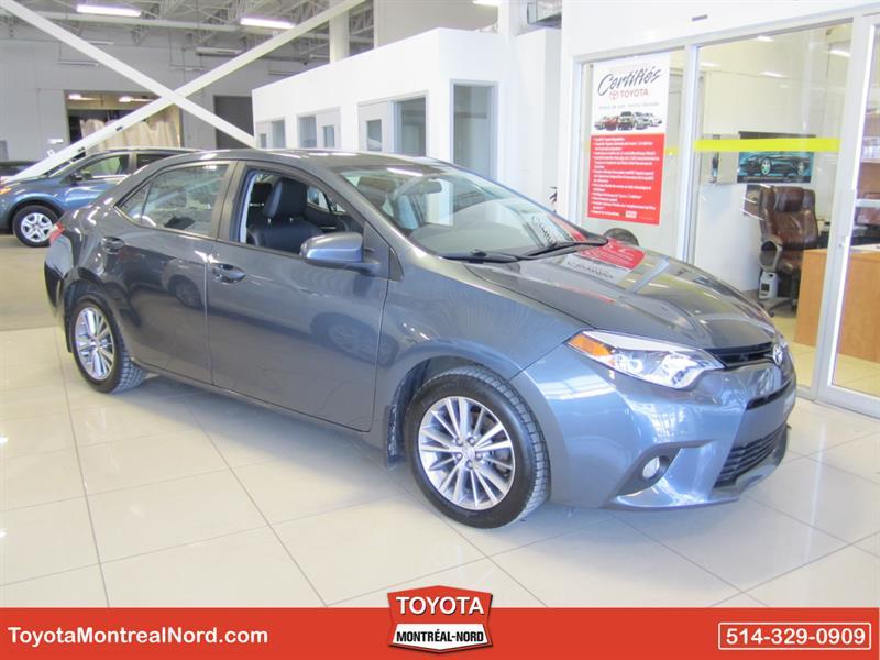 Toyota Corolla 2014 LE CVT GR. AMELIORE Cuir+Toit+Mags #3706 AT