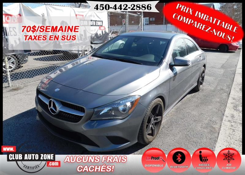 Mercedes-Benz CLA-Class 2015 CLA 250 4MATIC BLUETOOTH #FN233897