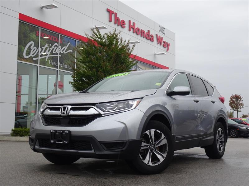 2017 Honda CR-V LX AWD Warranty until 2024/160,000km - BLUETOOTH,  #19-440A