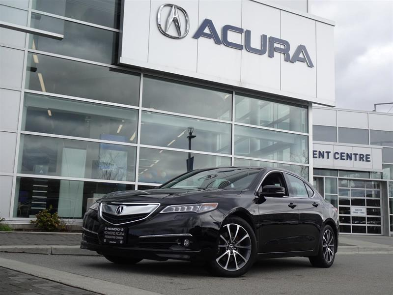 2016 Acura TLX Elite|Acura Certified|Local car|One Owner|No Accid #957528A