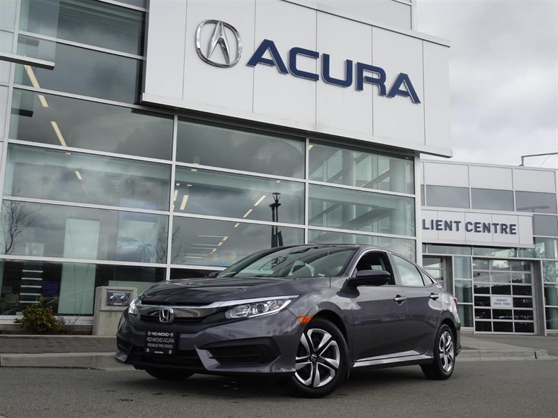 2018 Honda Civic LX|Local Car|One Owner|No Accidents|Warranty til 2 #P6198