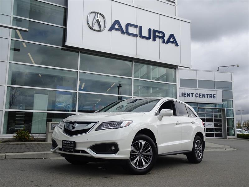 2017 Acura RDX Elite|Acura Certified|Local Car|One Owner|No Accid #997400A