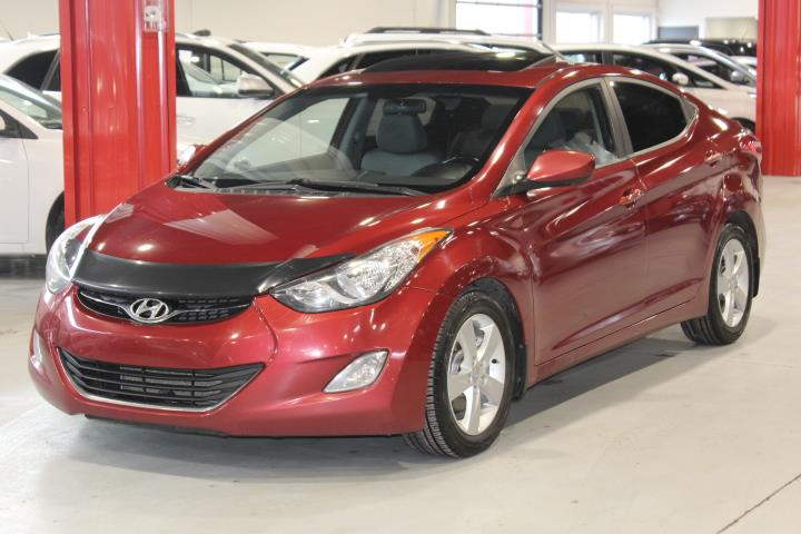 Hyundai Elantra 2012 GLS 4D Sedan at #0000001677
