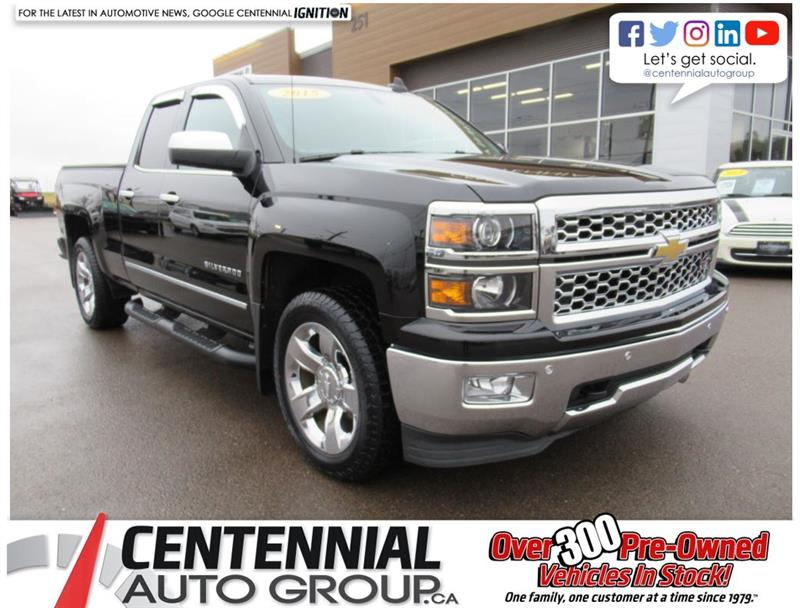 2015 Chevrolet Silverado 1500 4WD Double Cab | LTZ | Leather #U699A