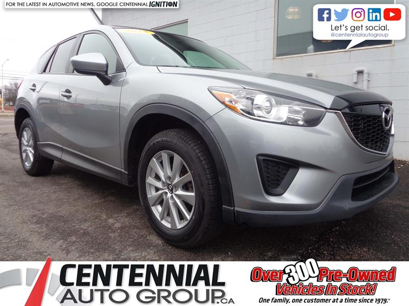 2015 Mazda CX-5 GX | AWD | A/C | Bluetooth #P18-052B