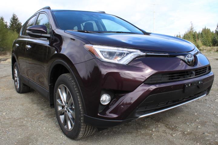 2018 Toyota RAV4 AWD Limited #11994