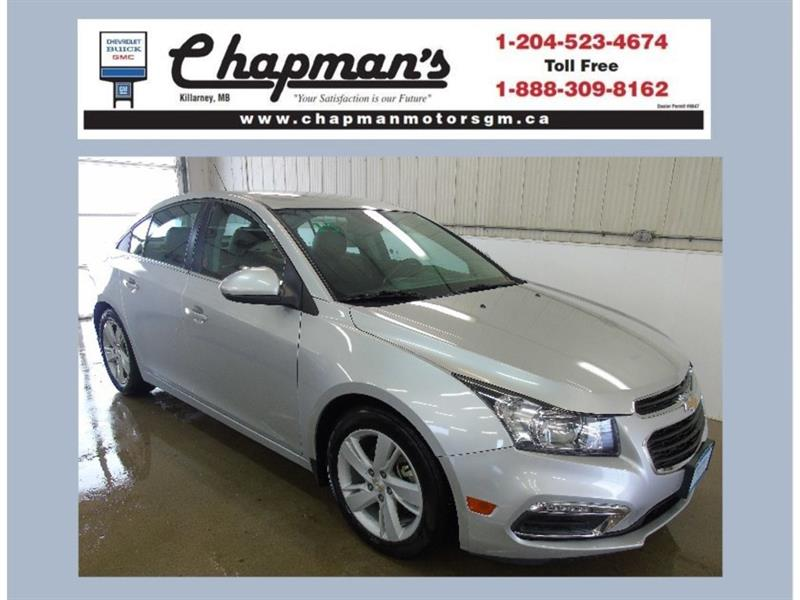 2015 Chevrolet Cruze Diesel, Remote Start, Heated Seats, USB #19-087A