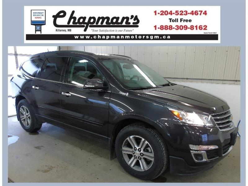 2016 Chevrolet Traverse 2LT AWD, 7 Passenger, Leather #K-011A