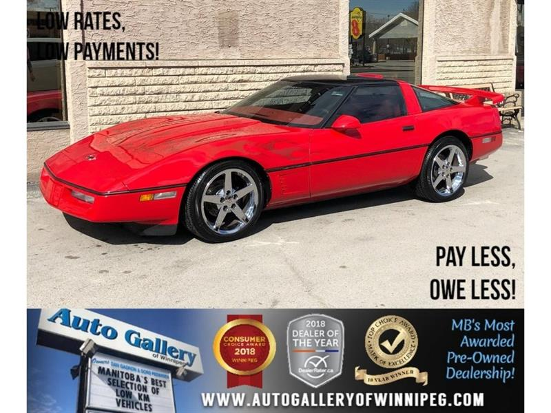 1987 Chevrolet Corvette C4 Z52 *Fully Custom/Supercharged! #1987