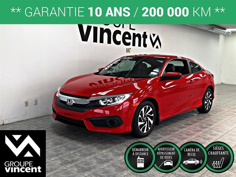 Honda Civic 2018 COUPÉ LX  **GARANTIE 10 ANS** #K0556H-v
