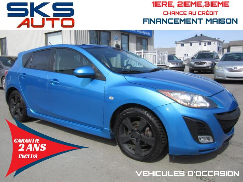 Mazda 3 Sport 2010 GT (GARANTIE 2 ANS INCLUS) *FINANCEMENT MAISON* #SKS-4290-16