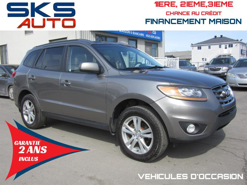 Hyundai Santa Fe 2011 AWD GL (GARANTIE 2 ANS INCLUS) TOIT OUVRANT #SKS-4295-4