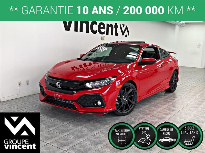 Honda Civic 2018 Si COUPÉ HFP **GARANTIE 10 ANS** #CC0494H