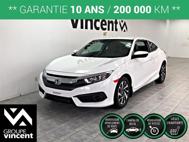 Honda Civic 2018 LX COUPÉ **GARANTIE 10 ANS** #C0405H