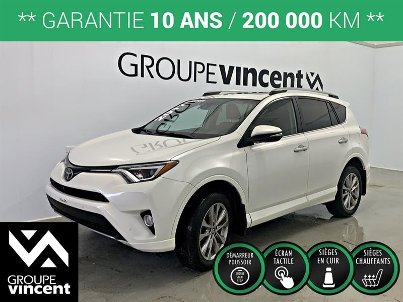 Toyota RAV4 2017 LIMITED  AWD  **GARANTIE 10 ANS** #90101AT